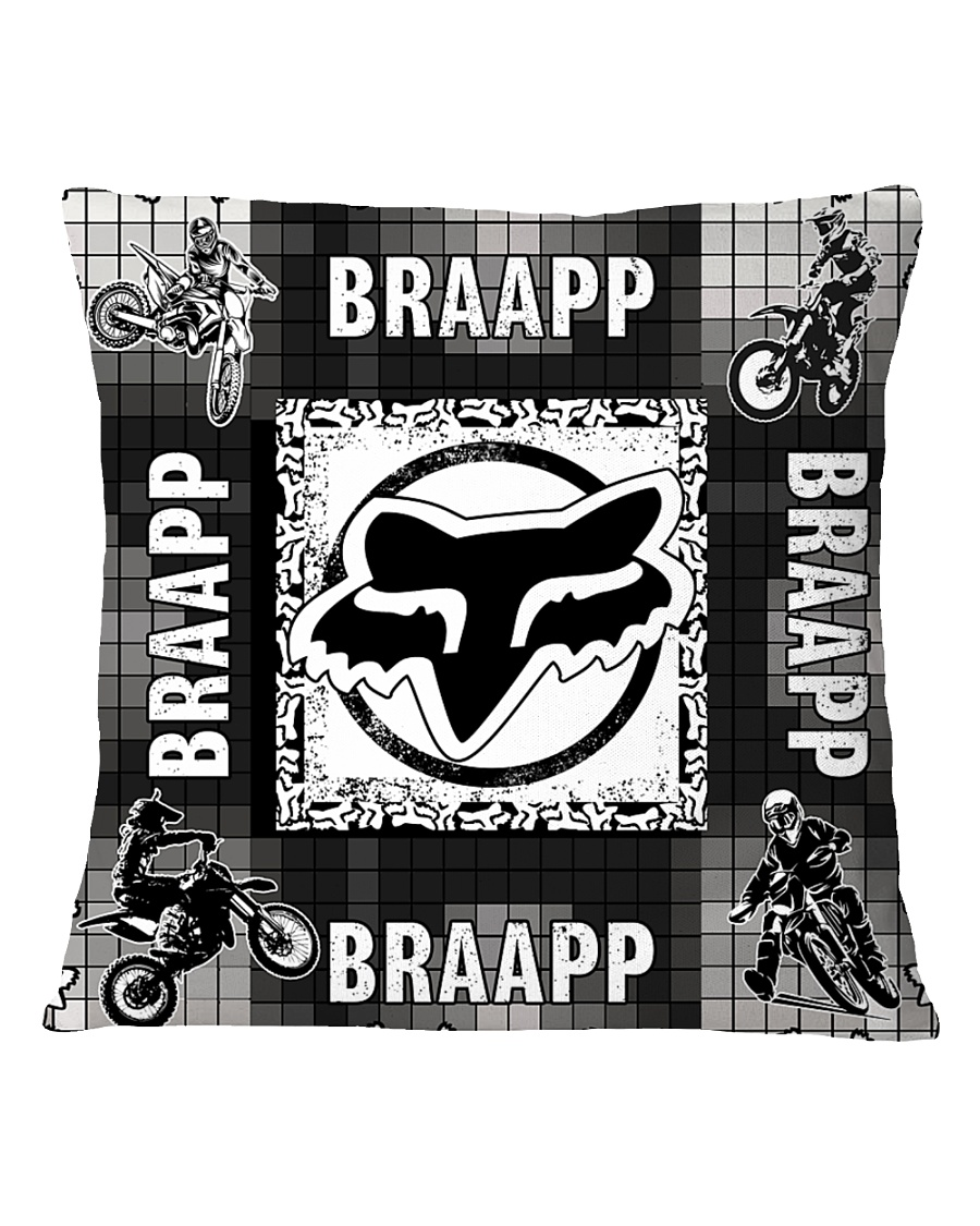motocross braapp pillowcase Square Pillowcase