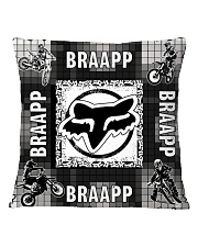motocross braapp pillowcase Square Pillowcase front