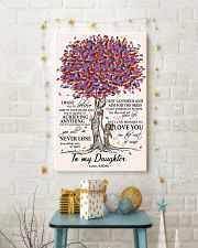 10- TO MY DAUGHTER poster 11x17 Poster lifestyle-holiday-poster-3