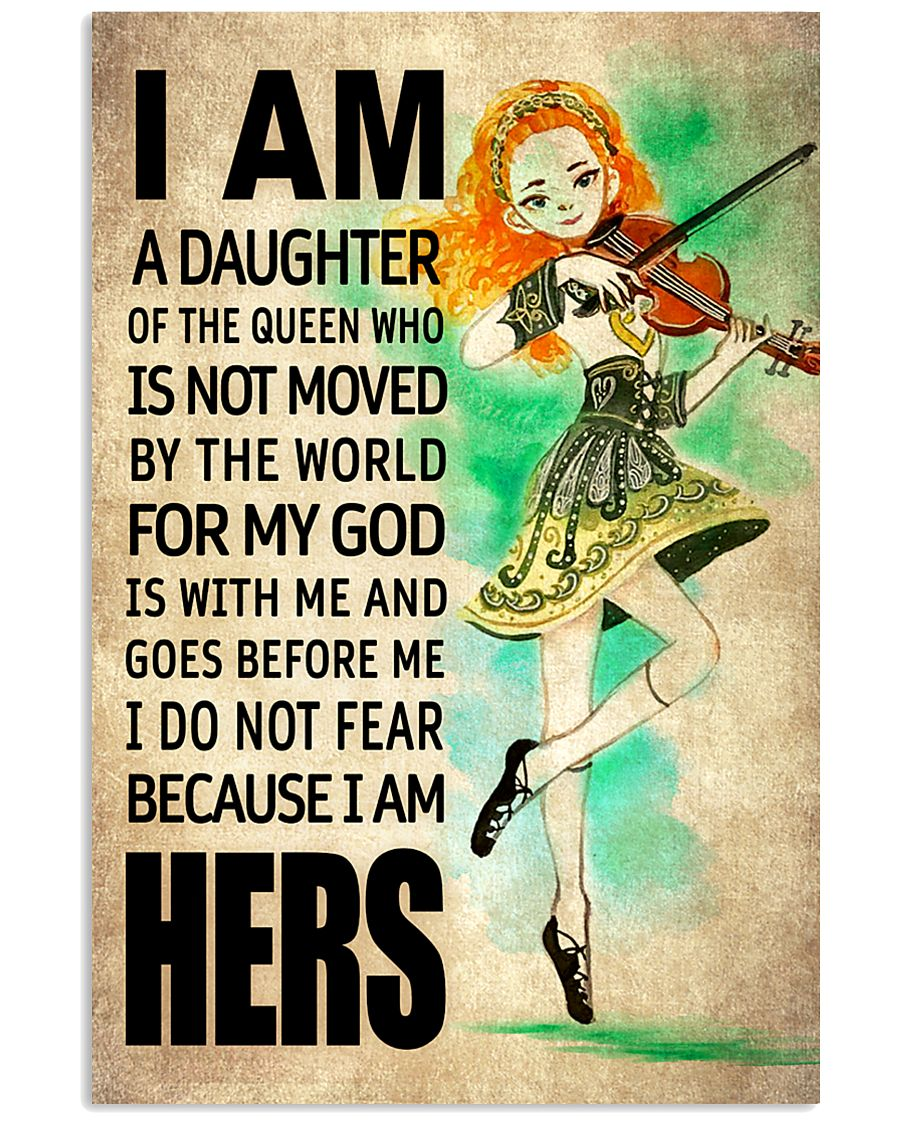 IRISH DAUGHTER - FOR MY GOD 16x24 Poster