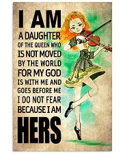 IRISH DAUGHTER - FOR MY GOD 16x24 Poster front