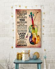 VIOLIN - TODAY IS A GOOD DAY POSTER 11x17 Poster lifestyle-holiday-poster-3