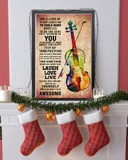 VIOLIN - TODAY IS A GOOD DAY POSTER 11x17 Poster lifestyle-holiday-poster-4