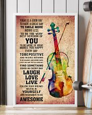 VIOLIN - TODAY IS A GOOD DAY POSTER 11x17 Poster lifestyle-poster-4