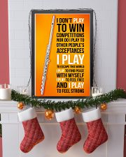 FLUTE - I DON'T PLAY TO WIN COMPETITIONS 11x17 Poster lifestyle-holiday-poster-4