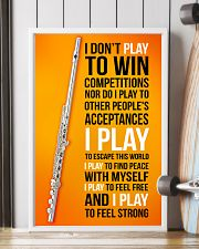 FLUTE - I DON'T PLAY TO WIN COMPETITIONS 11x17 Poster lifestyle-poster-4