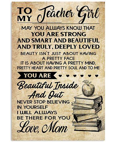 TO MY TEACHER GIRL