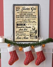 TO MY TEACHER GIRL 16x24 Poster lifestyle-holiday-poster-4