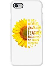 1st Gradel Teacher IN THE WORLD FULL OF PHONECASE Phone Case i-phone-8-case