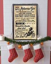 TO MY Motocross Girl DAD 16x24 Poster lifestyle-holiday-poster-4