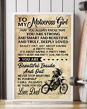 TO MY Motocross Girl DAD 16x24 Poster lifestyle-poster-4