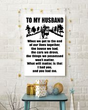 TO MY HUSBAND WHEN WE TO THE END 11x17 Poster lifestyle-holiday-poster-3