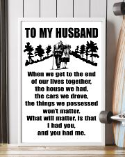 TO MY HUSBAND WHEN WE TO THE END 11x17 Poster lifestyle-poster-4