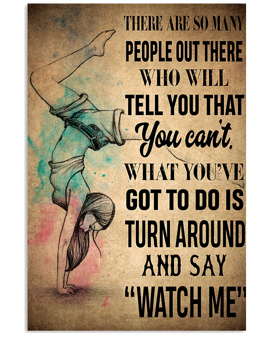 GYMNASTICS- THERE ARE SO MANY 16x24 Poster