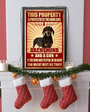 Dachshund - This Property Poster SKY 11x17 Poster lifestyle-holiday-poster-4