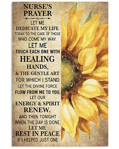 NURSE'S PRAYER POSTER