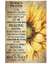 NURSE'S PRAYER POSTER 11x17 Poster front