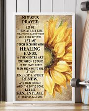 NURSE'S PRAYER POSTER 11x17 Poster lifestyle-poster-4