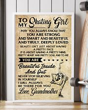 2 - TO MY  Skating Girl 11x17 Poster lifestyle-poster-4
