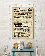 18 TO MY Taekwondo Girl - Grandma 16x24 Poster lifestyle-holiday-poster-3