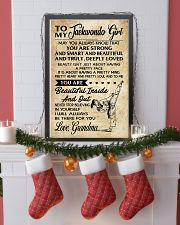 18 TO MY Taekwondo Girl - Grandma 16x24 Poster lifestyle-holiday-poster-4