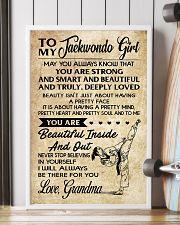 18 TO MY Taekwondo Girl - Grandma 16x24 Poster lifestyle-poster-4