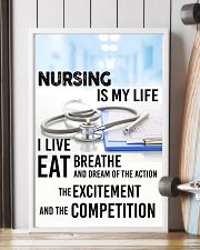NURSING IS MY LIFE POSTER 11x17 Poster lifestyle-poster-4