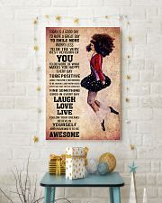 IRISH DANCE- TODAY IS A GOOD DAY POSTER 11x17 Poster lifestyle-holiday-poster-3