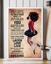 IRISH DANCE- TODAY IS A GOOD DAY POSTER 11x17 Poster lifestyle-poster-4