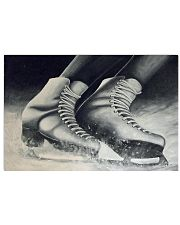 figure skating shoes poster 17x11 Poster front