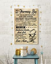 TO MY Pharrmacy Boy  - Mom 16x24 Poster lifestyle-holiday-poster-3