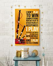 BAGPIPES - I DON'T PLAY TO WIN COMPETITIONS 11x17 Poster lifestyle-holiday-poster-3