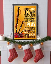 BAGPIPES - I DON'T PLAY TO WIN COMPETITIONS 11x17 Poster lifestyle-holiday-poster-4