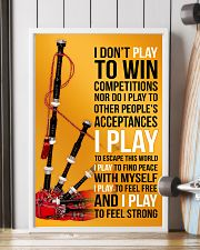BAGPIPES - I DON'T PLAY TO WIN COMPETITIONS 11x17 Poster lifestyle-poster-4