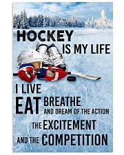 HOCKEY IS MY LIFE POSTER 11x17 Poster front