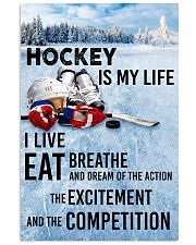 HOCKEY IS MY LIFE POSTER 16x24 Poster front