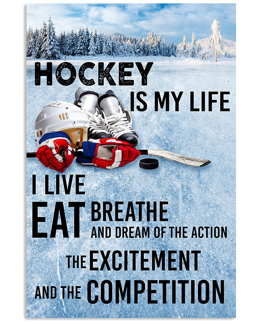 HOCKEY IS MY LIFE POSTER 24x36 Poster
