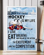 HOCKEY IS MY LIFE POSTER 24x36 Poster lifestyle-poster-4