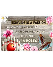 BOWLING IS PASSION POSTER 17x11 Poster front