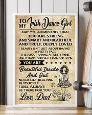 TO MY Irish Dance Girl dad 16x24 Poster lifestyle-poster-4