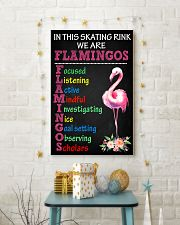 IN THIS SKATING RINK WE ARE FLAMINGOS 11x17 Poster lifestyle-holiday-poster-3