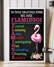 IN THIS SKATING RINK WE ARE FLAMINGOS 11x17 Poster lifestyle-poster-4