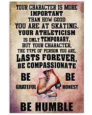 YOUR CHARACTER IS MORE - Skating 16x24 Poster front