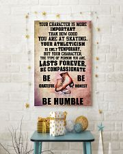 YOUR CHARACTER IS MORE - Skating 16x24 Poster lifestyle-holiday-poster-3