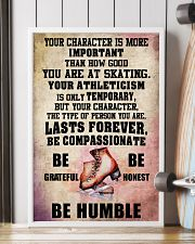 YOUR CHARACTER IS MORE - Skating 16x24 Poster lifestyle-poster-4