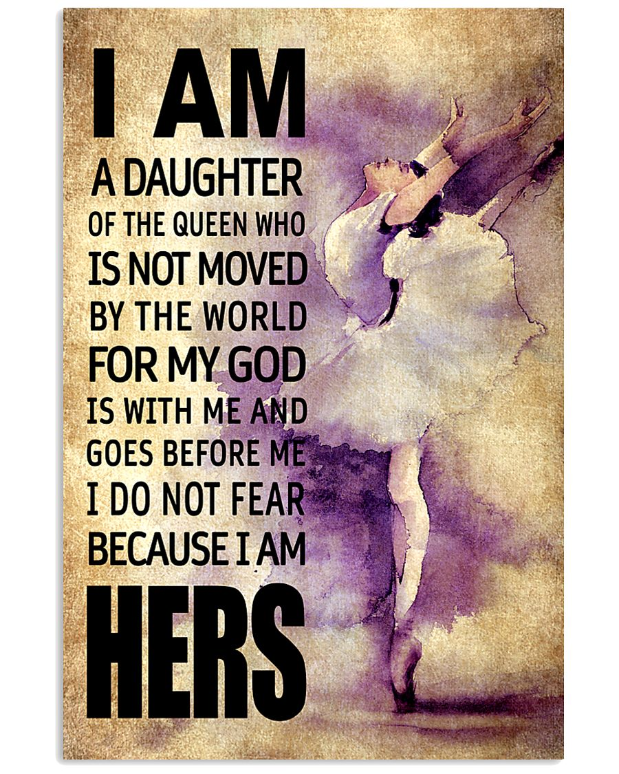 DANCE DAUGHTER - FOR MY GOD 16x24 Poster