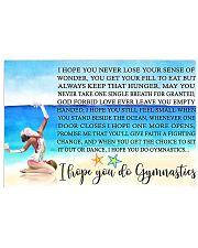 11- I HOPE YOU DO GYMNASTICS KD 17x11 Poster front