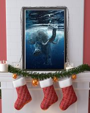 Elephant - Elephant swim in sea Poster - TL 16x24 Poster lifestyle-holiday-poster-4