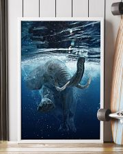 Elephant - Elephant swim in sea Poster - TL 16x24 Poster lifestyle-poster-4