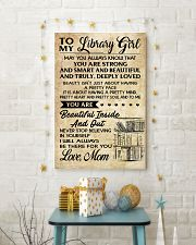 TO MY LIBRARY GIRL- MOM 16x24 Poster lifestyle-holiday-poster-3